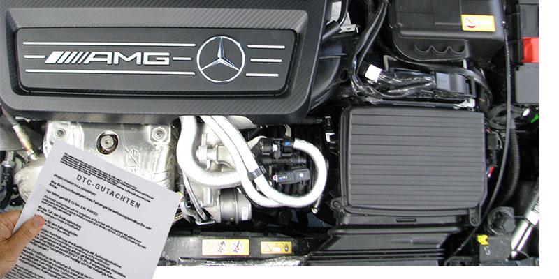 AMG Tuning mit DTC-Gutachten