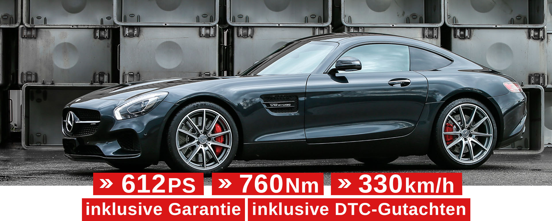 Tuning Mercedes AMG GTS
